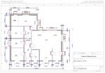 Grundrisszeichnung CAD