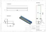 3D Blechabwicklung Regal CAD